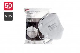 3M N95 9502+ KN95 Particulate Respirator Mask (50 Pack)